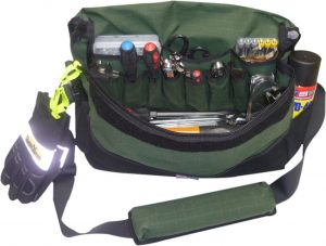 Canvas Tool Bag - Deluxe - Large - Green
