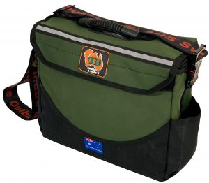 Canvas Tool Bag - Deluxe - Small - Green