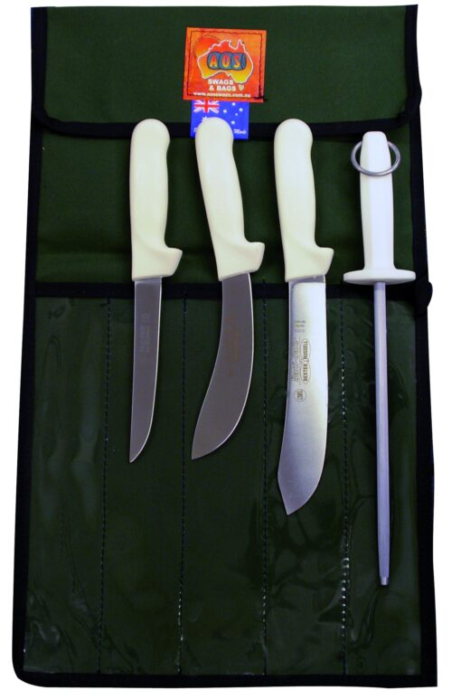 AOS SaniSafe Butcher Knife Package
