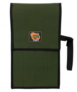 AOS Tool & Knife Wrap - Green Canvas - 4 Piece