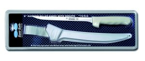 "Sani-Safe Narrow Fillet Knife with Sheath 8"""
