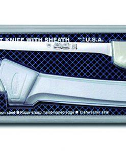 "Sani-Safe Narrow Fillet Knife with Sheath 9"""