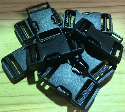BULK PACKS 25mm Quick release buckle - Plastic