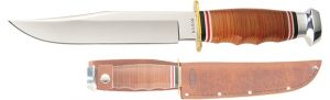 BOWIE-STACKED LEATHER HANDLE