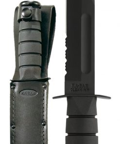 Full Size Black KA-BAR® - Serrated Edge (1212)