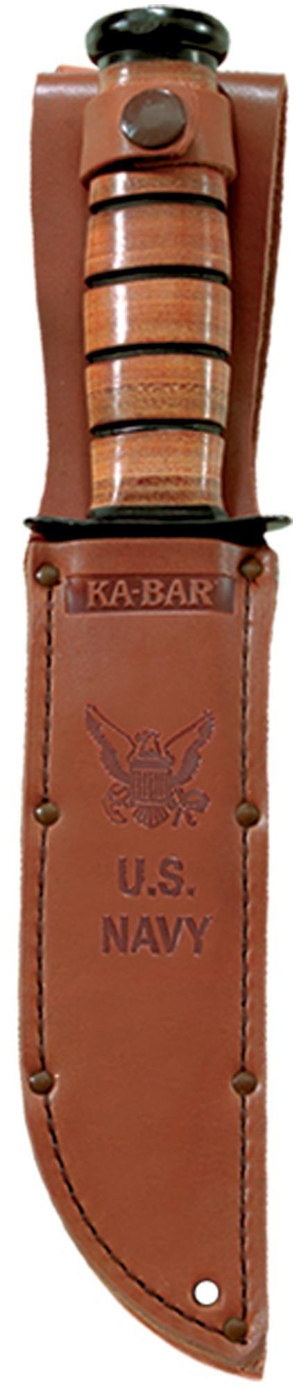 "KA-BAR® US Navy - 7"" Blade Straight Edge (1225)"