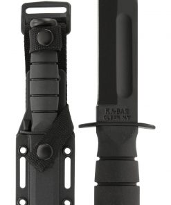 "USA Short KA-BAR® with 5¼"" Blade and Hard Plastic Sheath (1258)"