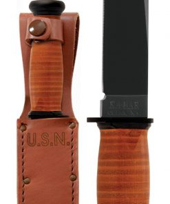 KA-BAR® Mark I with Leather Sheath (2225)