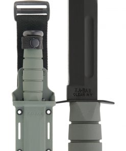 KA-BAR® Full Size with Foliage Green Handle & Hard Plastic Sheath (5011)