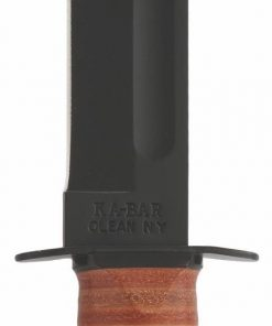 KA-BAR® US Army Full Size with Leather Handle & Hard Plastic Sheath (5020)