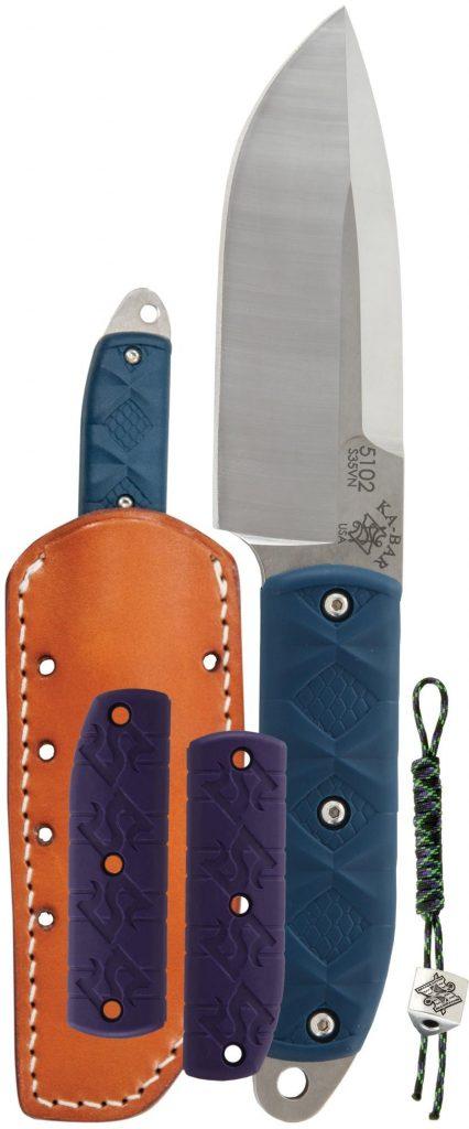 KA-BAR® Snody Big Boss with Leather Sheath (5102)