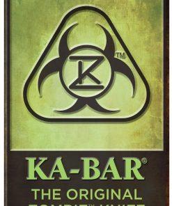 The Original KA-BAR® Zombie® Knife Metal Sign (5700SIGN)