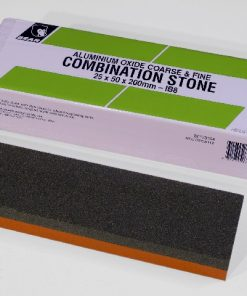 Norton / Bear IB8 Aluminium Oxide 8″ x 2″ (200 x 50mm) Oil Filled Combination Stone