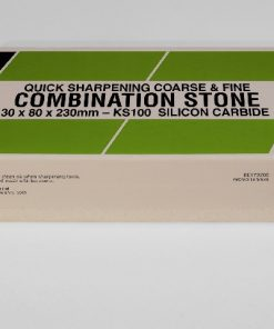 Norton / Bear KS100 Silicon Carbide (230 x 80mm) Oil Filled Combination Stone