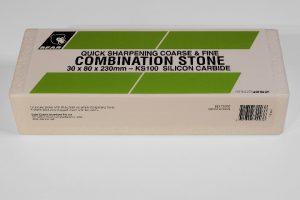 Norton / Bear KS100 Silicon Carbide (230 x 80mm) Oil Filled Combination Stone