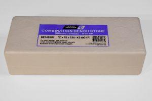 Norton / Bear KS100 Silicon Carbide (230 x 80mm) NON-Oil Filled Combination Stone