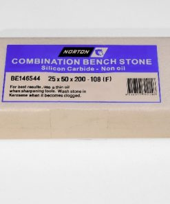 Norton / Bear 108 Silicon Carbide 8″ x 2″ (200 x 50mm) NON-Oil Filled Combination Stone