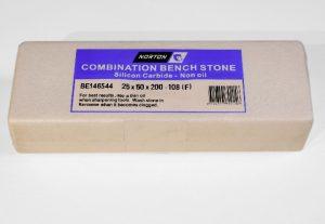 Norton / Bear 108 Silicon Carbide 8″ x 2″ (200 x 50mm) NON-Oil Filled Combination Stone