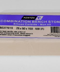 Norton / Bear 109 Silicon Carbide 6″ x 2″ (150 x 50mm) NON-Oil Filled Combination Stone
