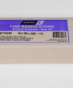 Norton / Bear Handyman 115 Silicon Carbide 8″ x 2″ (200 x 50mm) NON-Oil Filled Stone
