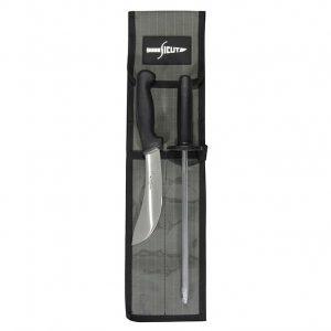 SICUT 2 Piece Skinning Knife Package – Black Handle