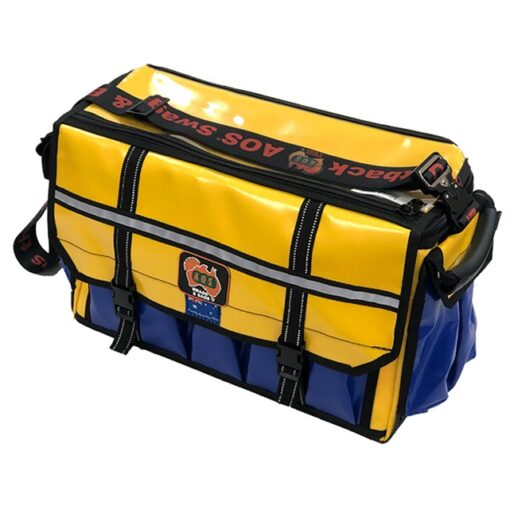 AOS Tradesman Tool Bag - Large - Yellow/Blue PVC