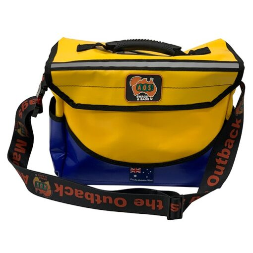 AOS Deluxe Tool Bag - PVC- Small - Yellow/Blue