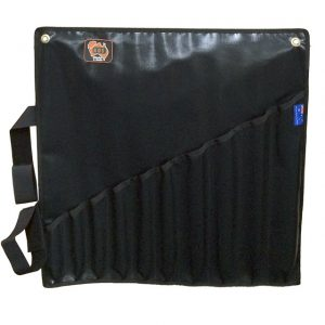 AOS Spanner Roll - Large 10 Pockets - Black PVC