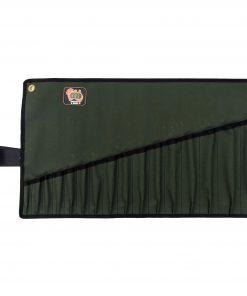 AOS Spanner Roll - Medium 16 Pockets - Green Canvas