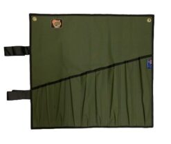 AOS Spanner Roll - Large 9 Pockets - Green Canvas