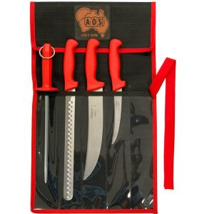 AOS Tramontina Knife package BBQ Low & Slow