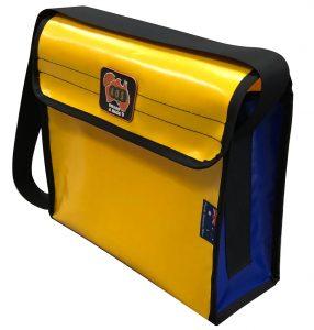 AOS STANDARD TOOL BAG SMALL YELLOW/BLUE PVC