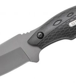 Schrade 2143OT Old Timer Copperhead Guthook Fixed 3.67″ Black Drop Point Blade