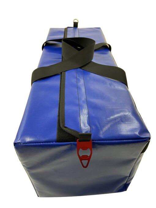 AOS PVC LARGE KIT BAG BLUE