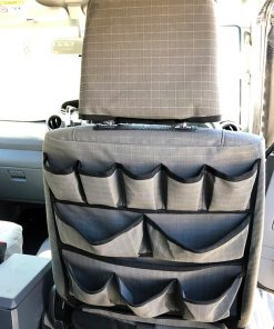 AOS Canvas Seat Cover for Landcruiser 79 Series GXL front seat - Grey