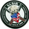 KA-BAR PATCH1 Skull Patch