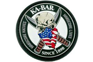 KA-BAR PATCH1 Skull Patch