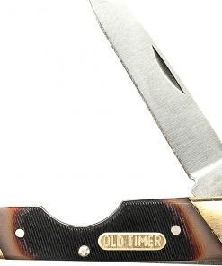 "Old Timer 19OT Land Shark Knife 3.75"" Sawcut"