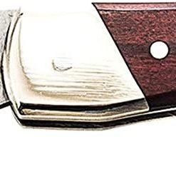 "Uncle Henry LB3 2.2"" Brown Bear Lockback Folder, Rosewood Handles"